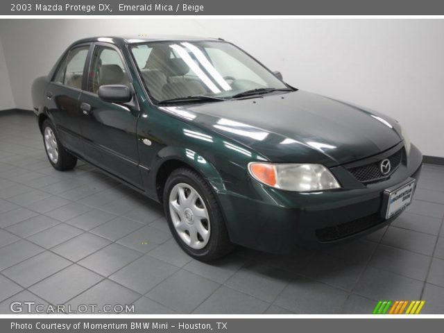 2003 Mazda Protege DX in Emerald Mica