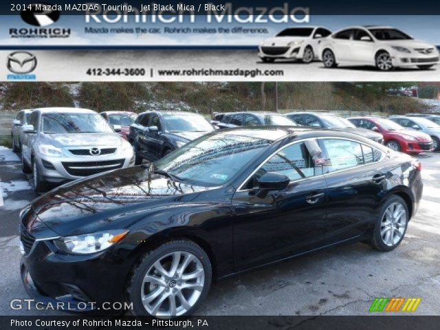 2014 Mazda MAZDA6 Touring in Jet Black Mica