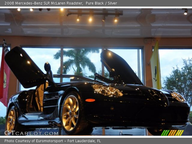 2008 Mercedes-Benz SLR McLaren Roadster in Pure Black