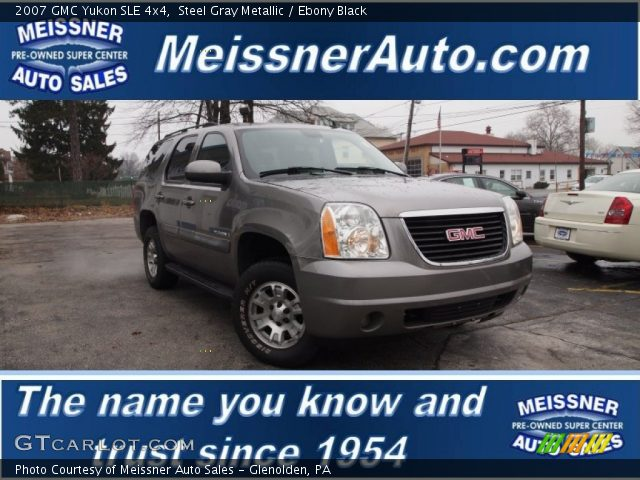 2007 GMC Yukon SLE 4x4 in Steel Gray Metallic