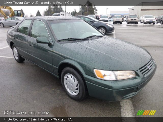 Woodland pearl 1999 toyota camry le oak interior for Woodland motors used cars