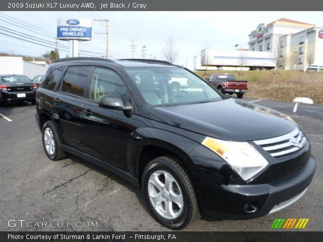 2009 Suzuki XL7 Luxury AWD in Jet Black