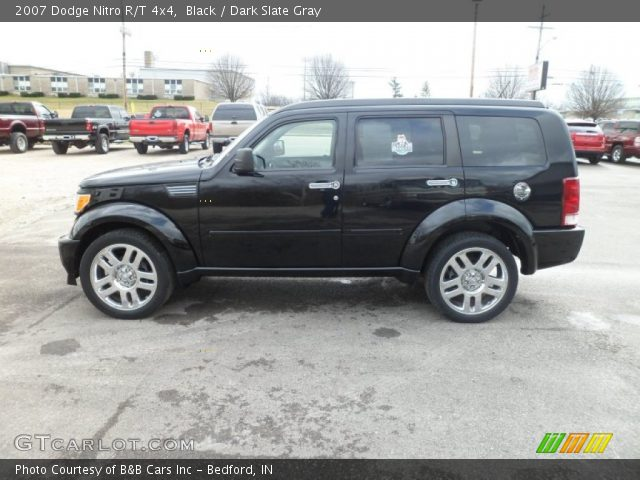 black 2007 dodge nitro r t 4x4 dark slate gray. Black Bedroom Furniture Sets. Home Design Ideas
