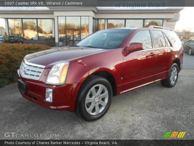 2007 Cadillac SRX V8 in Infrared