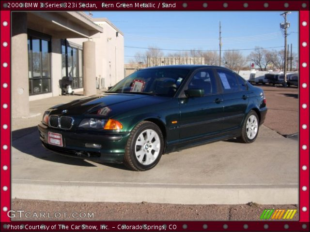 2000 BMW 3 Series 323i Sedan in Fern Green Metallic