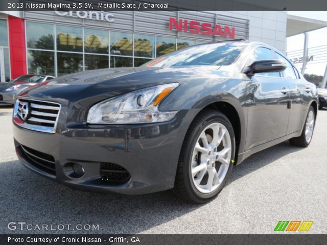 metallic slate 2013 nissan maxima 3 5 sv charcoal interior vehicle archive. Black Bedroom Furniture Sets. Home Design Ideas