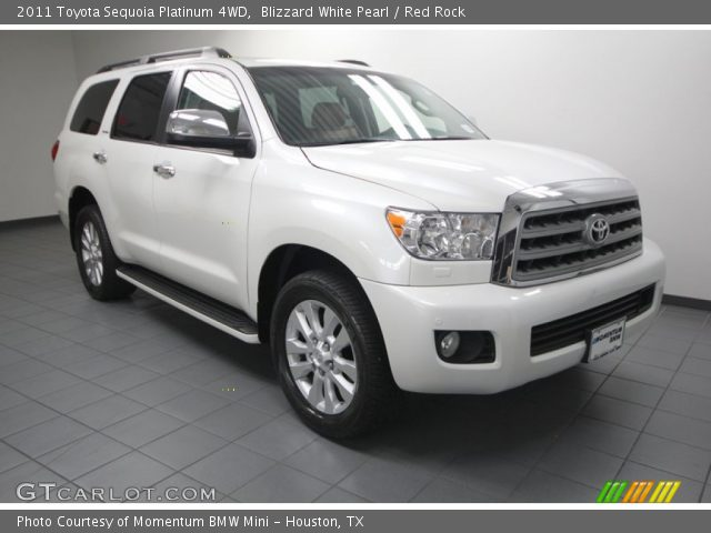 blizzard white pearl 2011 toyota sequoia platinum 4wd. Black Bedroom Furniture Sets. Home Design Ideas