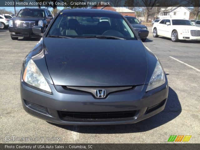 2003 Honda Accord EX V6 Coupe in Graphite Pearl