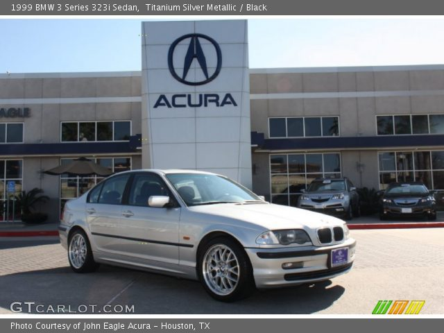 1999 BMW 3 Series 323i Sedan in Titanium Silver Metallic