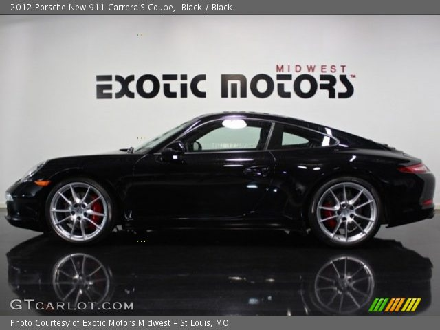 2012 Porsche New 911 Carrera S Coupe in Black