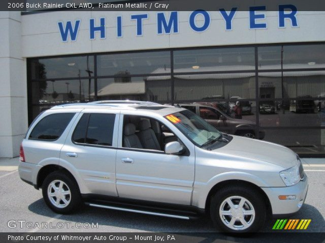 2006 Buick Rainier CXL AWD in Platinum Metallic