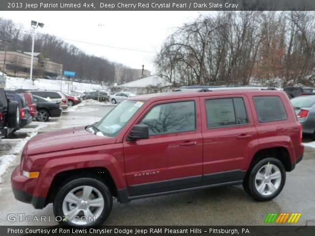 deep cherry red crystal pearl 2013 jeep patriot limited. Black Bedroom Furniture Sets. Home Design Ideas