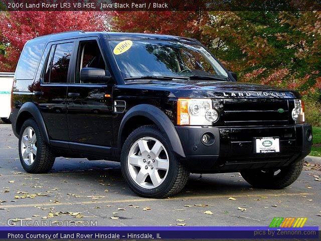 java black pearl 2006 land rover lr3 v8 hse black interior vehicle archive. Black Bedroom Furniture Sets. Home Design Ideas