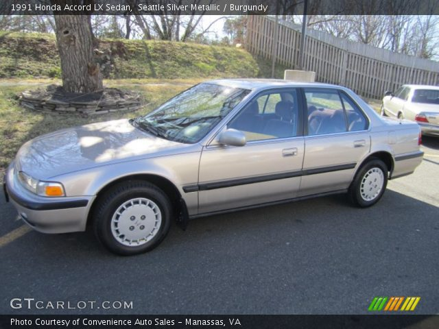 1991 Honda Accord LX Sedan in Seattle Silver Metallic