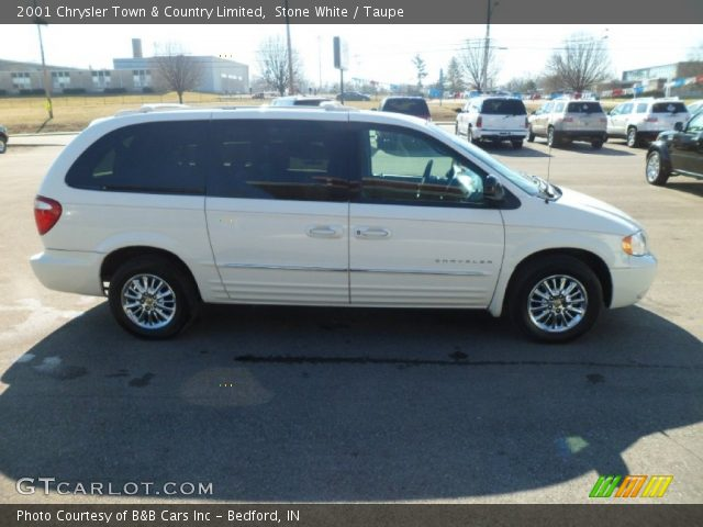 Stone white 2001 chrysler town country limited taupe for Stone s town country motors