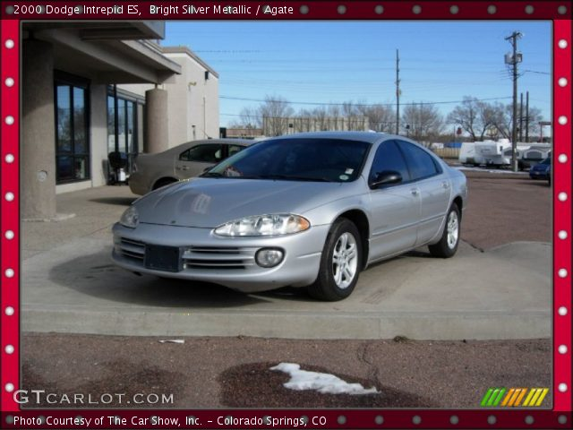 bright silver metallic 2000 dodge intrepid es agate. Black Bedroom Furniture Sets. Home Design Ideas
