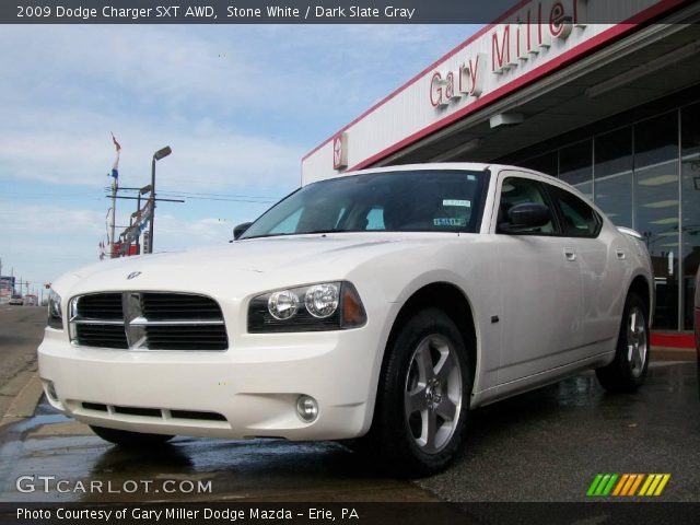 stone white 2009 dodge charger sxt awd dark slate gray. Black Bedroom Furniture Sets. Home Design Ideas