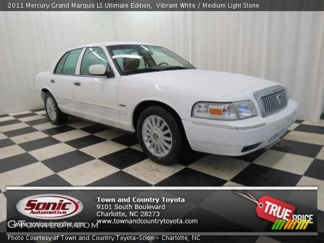 2011 Mercury Grand Marquis LS Ultimate Edition in Vibrant White