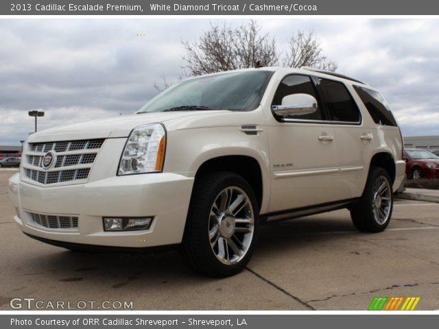 White Cadillac Escalade 2013 2013 Cadillac Escalade Premium