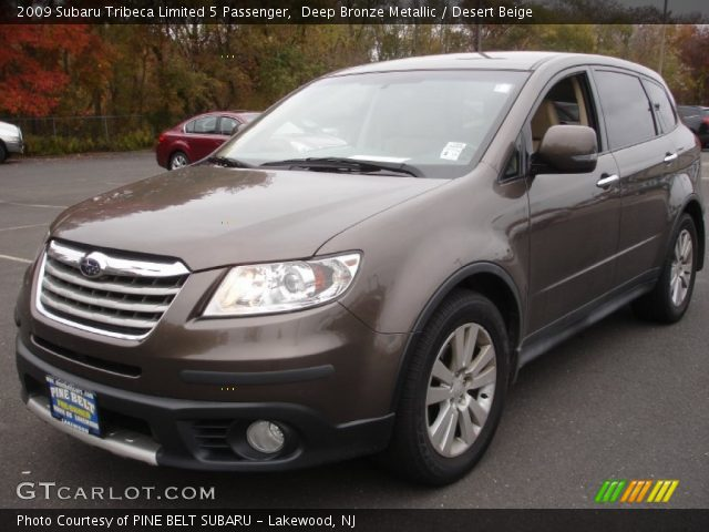 2009 Subaru Tribeca Limited 5 Passenger in Deep Bronze Metallic