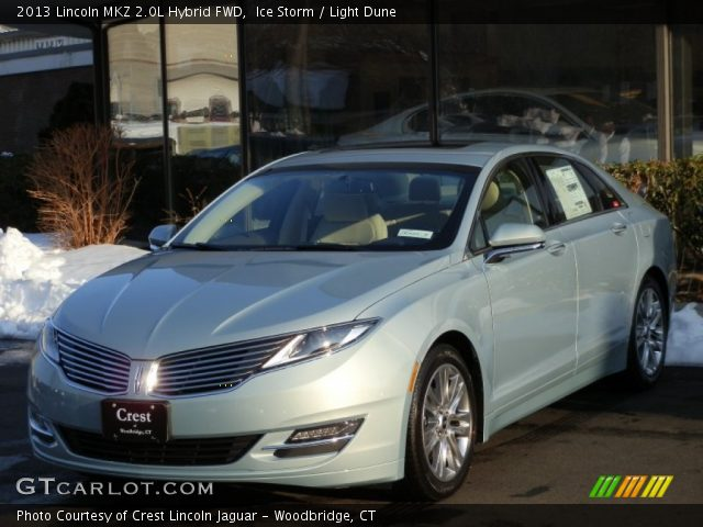 2013 Lincoln MKZ 2.0L Hybrid FWD in Ice Storm