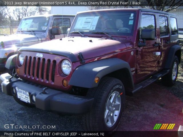 Deep Cherry Red Crystal Pearl 2013 Jeep Wrangler