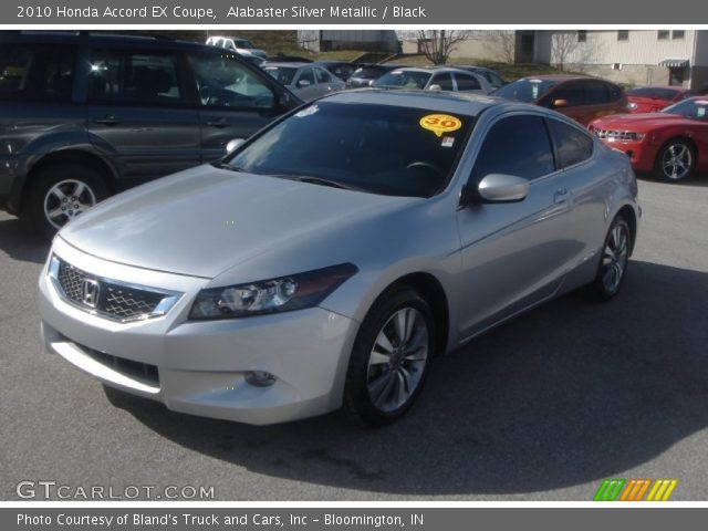 alabaster silver metallic 2010 honda accord ex coupe. Black Bedroom Furniture Sets. Home Design Ideas