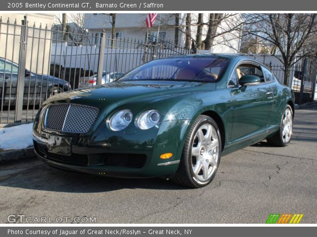2005 Bentley Continental GT  in Barnato Green