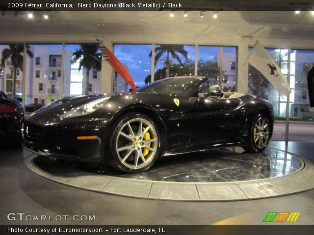 Nero Daytona Black Metallic 2009 Ferrari California Black