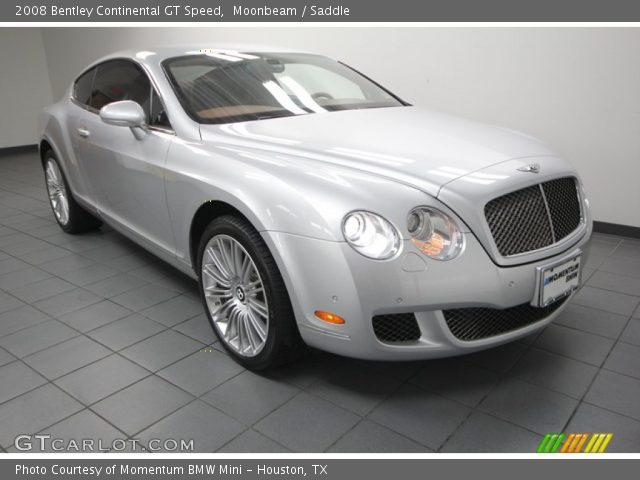 2008 Bentley Continental GT Speed in Moonbeam