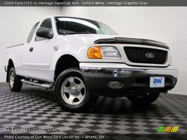 2004 Ford F150 XL Heritage SuperCab 4x4 in Oxford White