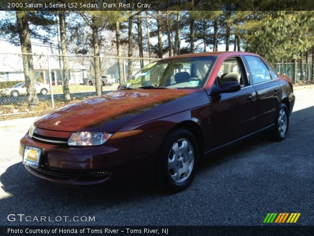 2000 Saturn L Series LS2 Sedan in Dark Red