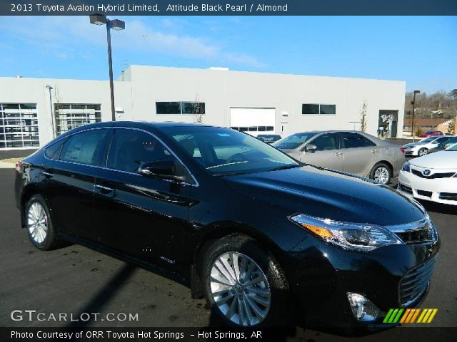 attitude black pearl 2013 toyota avalon hybrid limited almond interior. Black Bedroom Furniture Sets. Home Design Ideas