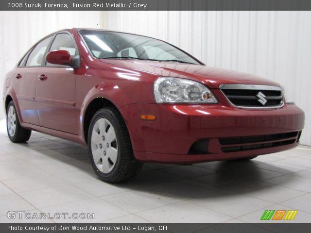 2008 Suzuki Forenza  in Fusion Red Metallic