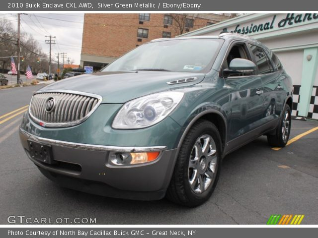 2010 Buick Enclave For Sale >> Silver Green Metallic - 2010 Buick Enclave CXL AWD - Ebony ...