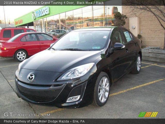 2010 Mazda MAZDA3 s Grand Touring 4 Door in Black Mica