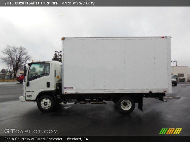 2013 Isuzu N Series Truck NPR in Arctic White