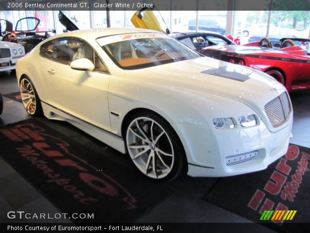 2006 Bentley Continental GT  in Glacier White