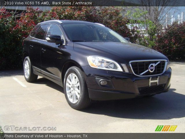 black stone 2010 volvo xc60 t6 awd anthracite interior. Black Bedroom Furniture Sets. Home Design Ideas