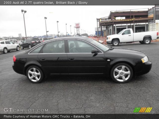 Brilliant Black - 2003 Audi A6 2.7T quattro Sedan - Ebony Interior on 2001 audi a6 black, 2004 audi a6 black, 2012 audi a8 black, 2003 audi tt, 1998 audi a6 black, 2006 audi a6 black, 2003 audi a6 twin turbo, 2008 audi r8 black, 2003 audi a6 interior, 2003 audi quattro, 2008 audi a6 black, 2005 audi a6 black, 2003 audi a6 blacked out, 2003 audi rs6 interior, 2008 audi q7 black, 2010 audi tt black, 2003 audi a6 lowered, 2000 audi a6 black, 2003 audi a6 custom, 2007 audi a6 black,