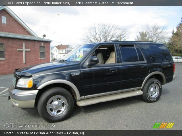 black clearcoat 2001 ford expedition eddie bauer 4x4. Black Bedroom Furniture Sets. Home Design Ideas