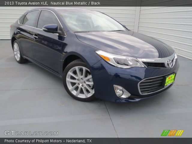 2013 Toyota Avalon XLE in Nautical Blue Metallic