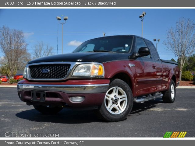 2003 Ford F150 Heritage Edition Supercab in Black