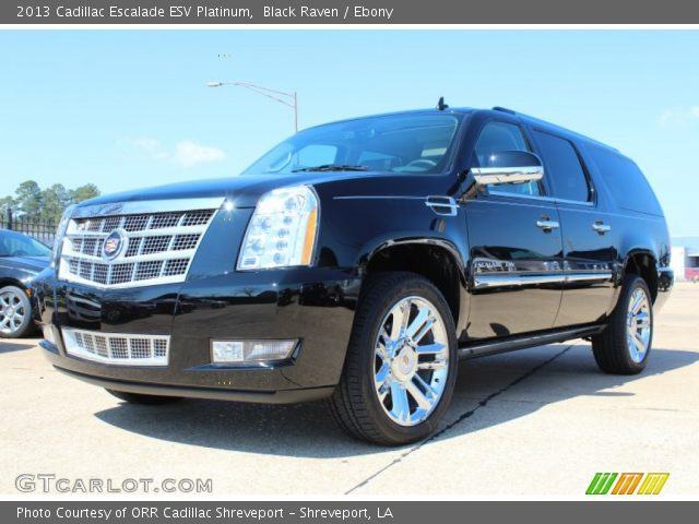 2013 Cadillac Escalade ESV Platinum in Black Raven