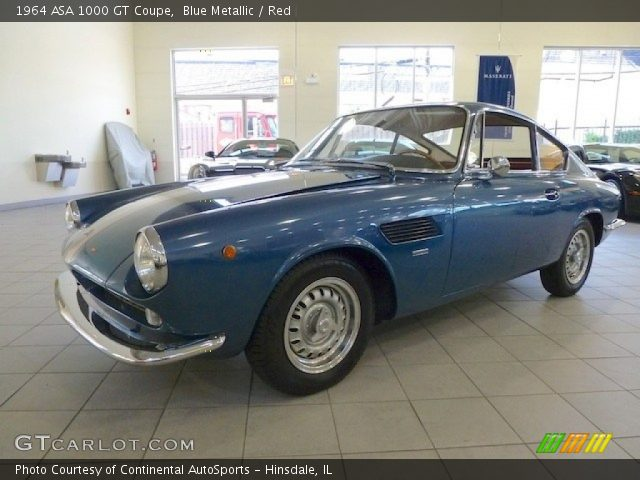 1964 ASA 1000 GT Coupe in Blue Metallic