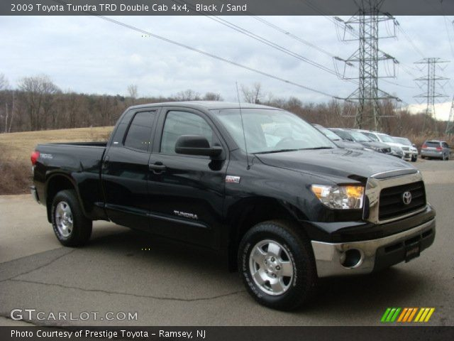 black 2009 toyota tundra trd double cab 4x4 sand interior vehicle archive. Black Bedroom Furniture Sets. Home Design Ideas