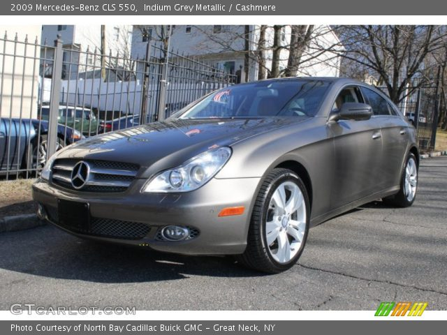 indium grey metallic 2009 mercedes benz cls 550. Black Bedroom Furniture Sets. Home Design Ideas