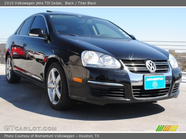 black 2010 volkswagen jetta tdi sedan titan black. Black Bedroom Furniture Sets. Home Design Ideas