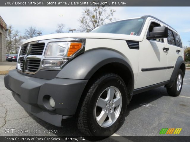 stone white 2007 dodge nitro sxt dark slate gray light. Black Bedroom Furniture Sets. Home Design Ideas