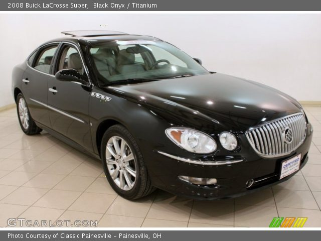 2008 Buick Lacrosse Super For Sale >> Black Onyx - 2008 Buick LaCrosse Super - Titanium Interior | GTCarLot.com - Vehicle Archive ...
